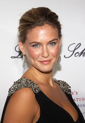 Cipriani Restaurant Wall Street Photograph - Bar Refaeli At Arrivals For The 2009 by Everett