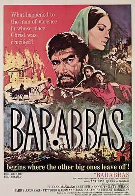 Barabbas, From Left, Anthony Quinn Art Print by Everett