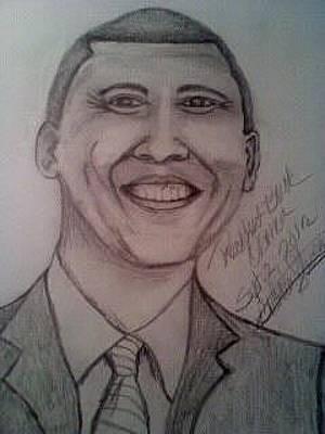 Barak Obama Original by AKIMALYAH Publishing