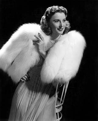 Publicity Shot Photograph - Barbara Stanwyck, Paramount Pictures by Everett