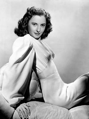 Colbw Photograph - Barbara Stanwyck, Warner Brothers, 3746 by Everett