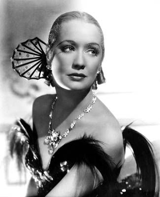 1935 Movies Photograph - Barbary Coast, Miriam Hopkins, 1935 by Everett