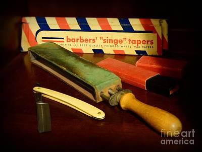 Barber Photograph - Barber - Keep The Razor Sharp by Paul Ward