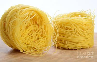 Barbina Pasta Art Print by Photo Researchers, Inc.