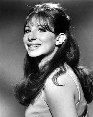 Barbra Streisand, Early 1960s Art Print by Everett