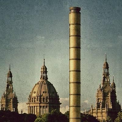 Fantasy Photograph - Barcelona - Montjuïc by Joel Lopez