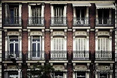 Photograph - Barcelona Balconies by RicharD Murphy