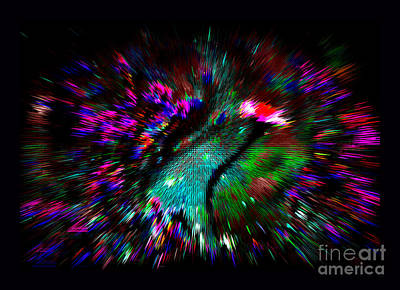 Shamanic Moments Digital Art - Bardo by Susanne Still