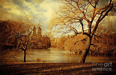 Bare Beauty In Central Park Art Print