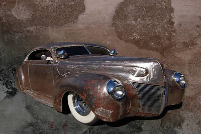 39 Ford Photograph - Barely 39 by Bill Dutting