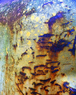 Photograph - Bark-like Rust by Carla Parris