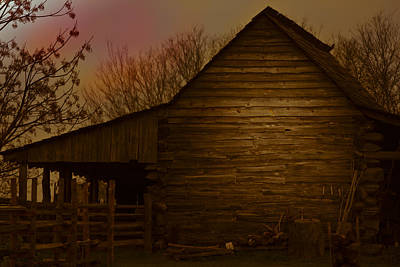 Photograph - Barn After Lightroom by Kim Henderson