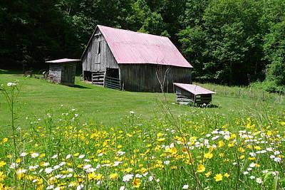 Photograph - Barn At The Miller Farm by Joel Deutsch