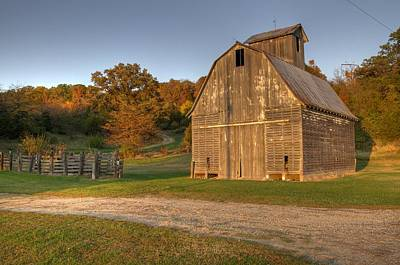 Photograph - Barn Colors by Coby Cooper