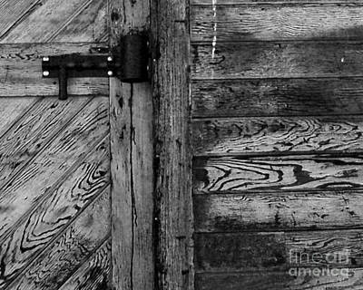 Photograph - Barn Door by Chuck Flewelling