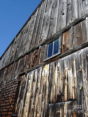 Photograph - Barn End Looking Up by Kerri Mortenson