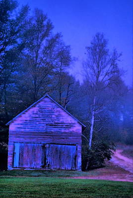 Photograph - Barn Fog by Emily Stauring