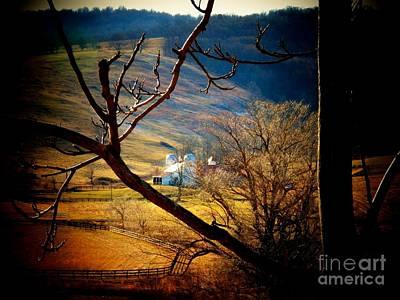 Northern Virginia Photograph - Barn In Paris by Joyce Kimble Smith