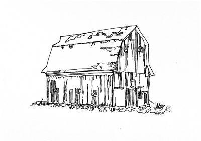 Barn No.18 Original by Rob Loflin