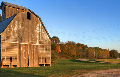 Photograph - Barn Road by Coby Cooper