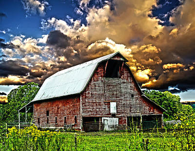 Barn Lots Photograph - Barn Storming by Randall Branham