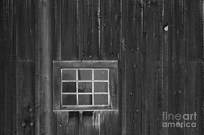 Photograph - Barn Window by JT Lewis