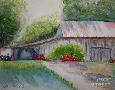 Painting - Barns Last Days by Terri Maddin-Miller