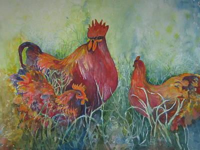 Barnyard Boss Art Print