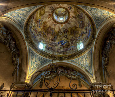 Baroque Church In Savoire France 5 Art Print by Clare Bambers