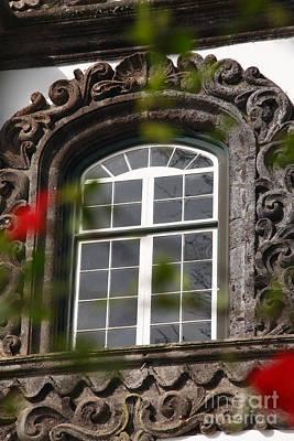 Baroque Style Window Art Print by Gaspar Avila