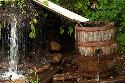 Photograph - Barrel Inb The Stream by Paul Mangold