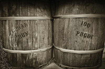 Photograph - Barrels Of Booze by Sherri Meyer