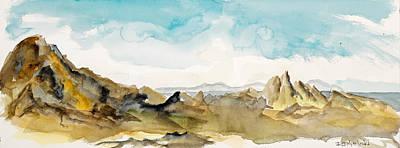 Painting - Barren Landscape by Richard Mordecki