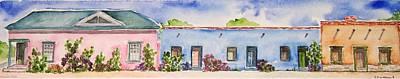 Barrio Viejo Art Print by Regina Ammerman