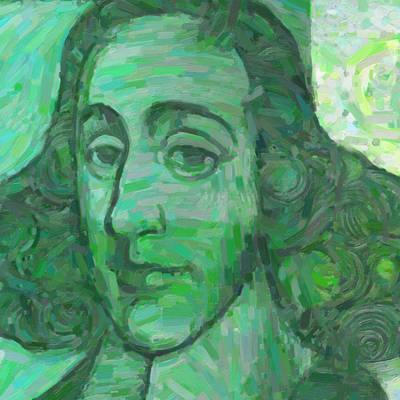Holland Painting - Baruch D'espinoza by Nop Briex