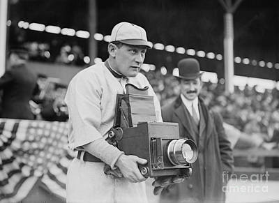 Photograph - Baseball: Camera, C1911 by Granger