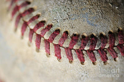 - Baseball Close 2 by Nancy Greenland