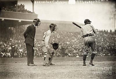 Baseball Game, 1908 Art Print