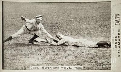 Quaker Photograph - Baseball Game, C1887 by Granger