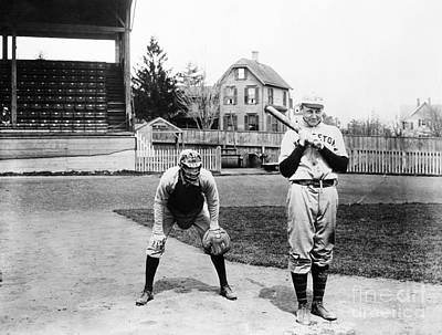 Photograph - Baseball: Princeton, 1901 by Granger
