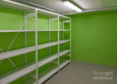 Basement Storage Room Art Print