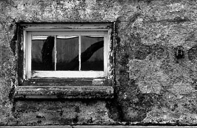 Basement Window Art Print by Tony Ramos