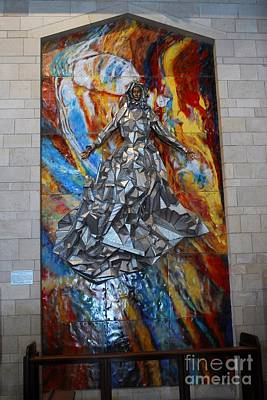 Digital Art - Basilica Of The Annunciation Nazareth by Eva Kaufman
