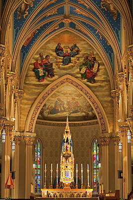 Photograph - Basilica Of The Sacred Heart by John Stephens