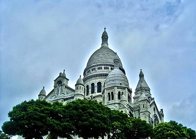 Photograph - Basilique Du Sacre-coeur - Paris  by Juergen Weiss