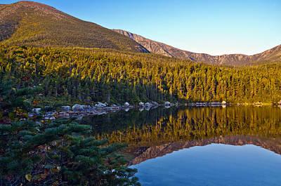 Photograph - Basin Pond Mt Katahdin Baxter State Park by Glenn Gordon