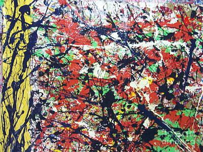 Painting - Basin Street Bluescape by Meroe Rei
