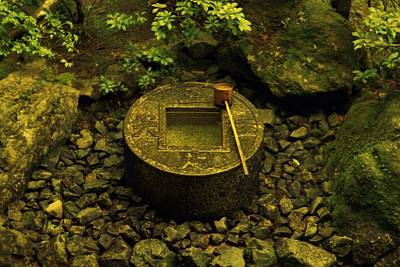 Art Print featuring the photograph Basin To Purify And Humble by Craig Wood