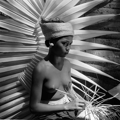 Exoticism Photograph - Basket Weaver by Ebri