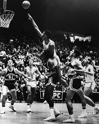 Photograph - Basketball Game, 1966 by Granger